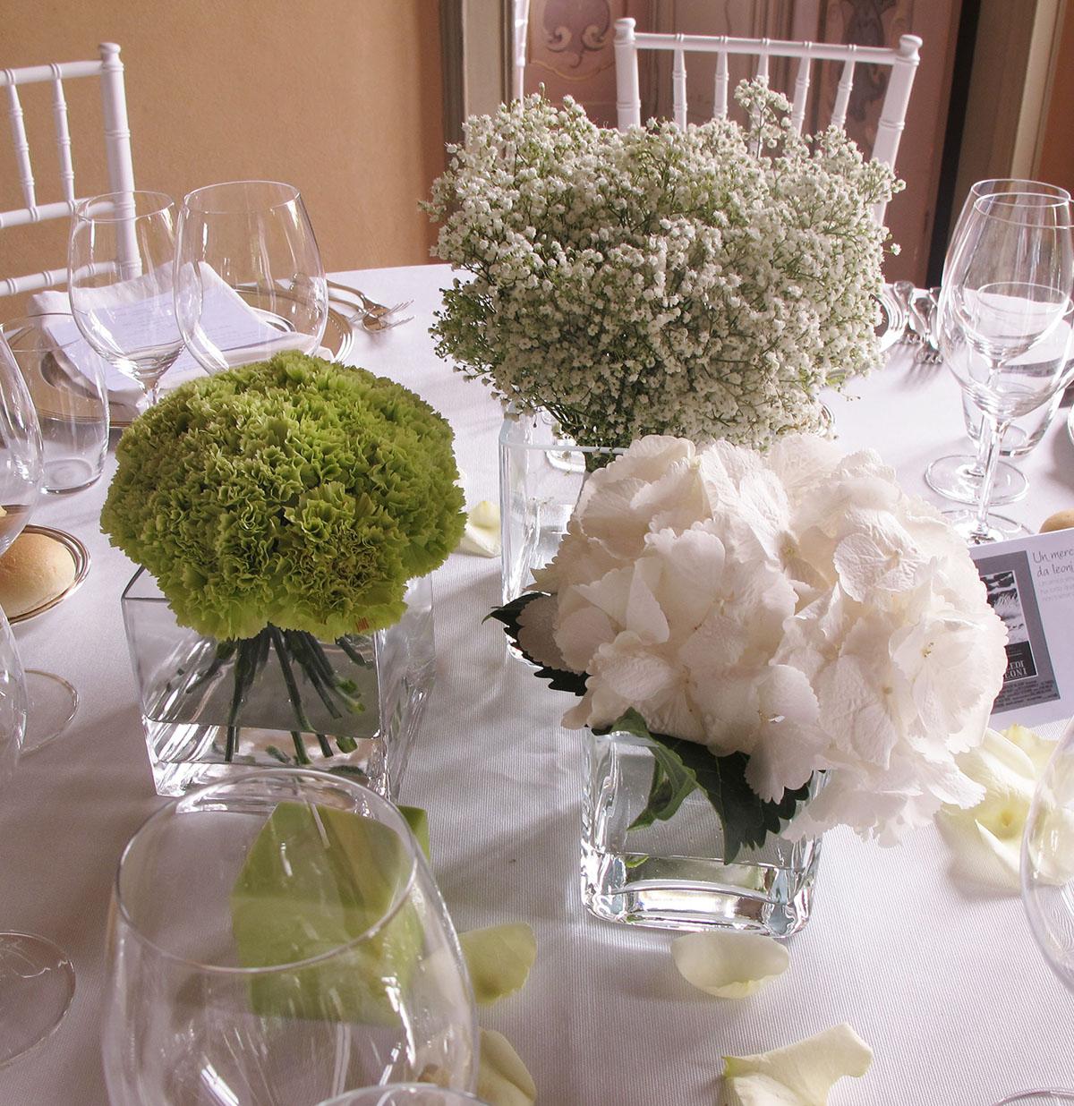 Matrimonio In Verde E Bianco : Centrotavola matrimonio piante aromatiche idee per il