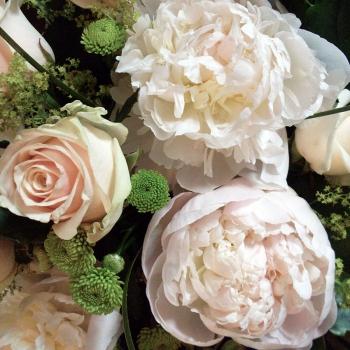 fiori rosa cipria matrimonio