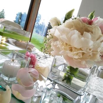 bouquet tavoli sposi