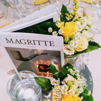 centrotavola fiori gialli